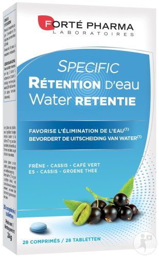 Forté Pharma Specific Rétention D'Eau 28 Comprimés