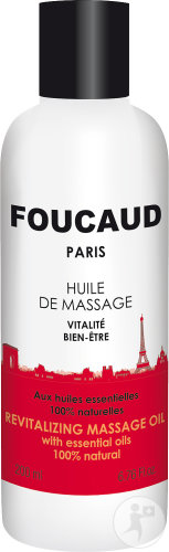 Foucaud Huile De Massage Revitalisante Flacon 200ml