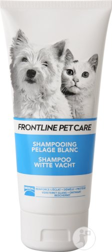 Frontline Pet Care Shampoing Pelage Blanc Tube 200ml