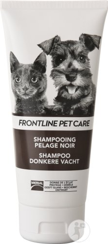 Frontline Pet Care Shampoing Pelage Noir Tube 200ml