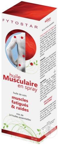 Fytostar Huile Musculaire Spray 30ml