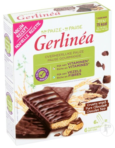 Gerlinéa Crusty Snack Chocolat Noir 102g