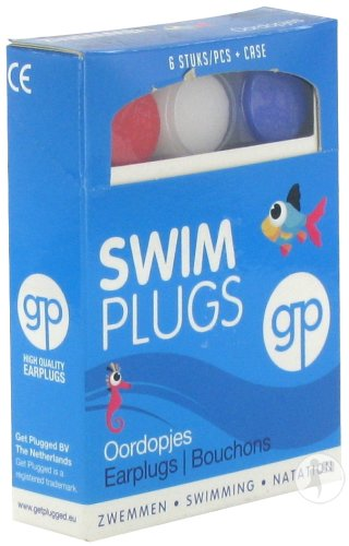 Get Plugged Bouchon Oreille Natation 3 Paires