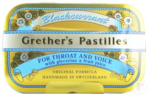 Grether's Pastilles Blackcurrant Pastilles 110g