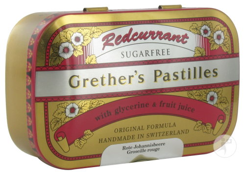 Grether's Redcurrant Sugarless Vitamines C 110g