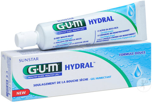 Gum Hydral Gel Buccal Humectant Tube 50ml (6000)