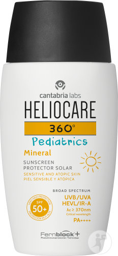 Heliocare 360° Pediatrics Mineral IP50 Flacon 50ml