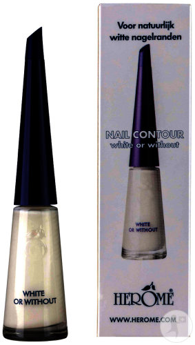 Herôme Nail Contour White Or Without 8ml (2005)