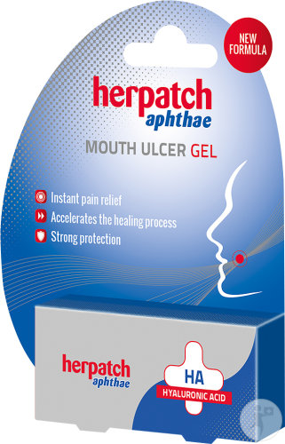 Herpatch Aphthae Gel Pour Les Aphtes Tube 10ml