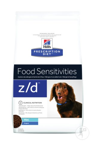 Hill's Pet Nutrition Prescription Diet Allergy & Skin Care Z/D Canine Mini Original 6kg