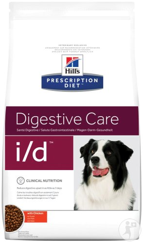 Hill's Pet Nutrition Prescription Diet Digestive Care I/D Canine Au Poulet 12kg