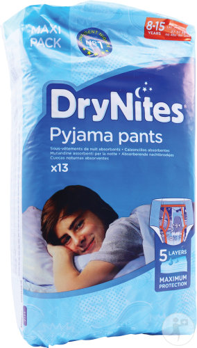 Huggies Drynites Boy Extra-large 8-15 Ans 13 Pièces