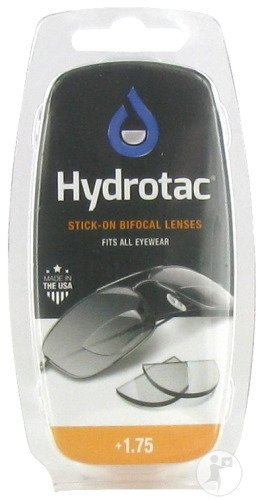 Hydrotac Stick-on Bifocal Lenses +1.75