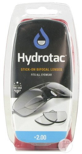 Hydrotac Stick-on Bifocal Lenses +2.00 2