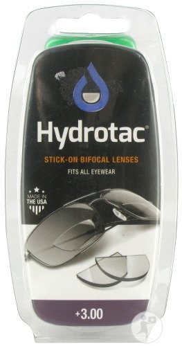 Hydrotac Stick-on Bifocal Lenses +3.00 2