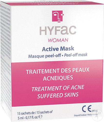 Hyfac Woman Active Masque Peel Off 15x5ml