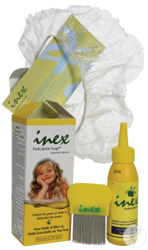 Inex Pediculicide Soap Shampoing Anti-Poux Flacon 100ml