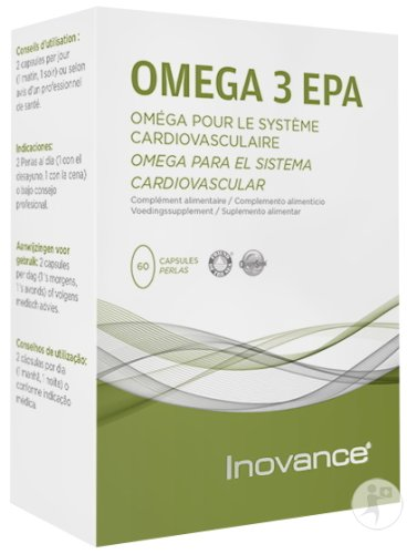 Inovance Omega 3 EPA Système Cardiovasculaire 60 Capsules