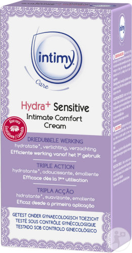 Intimy Care Hydra+ Sensitive Crème Soin Intime 50ml