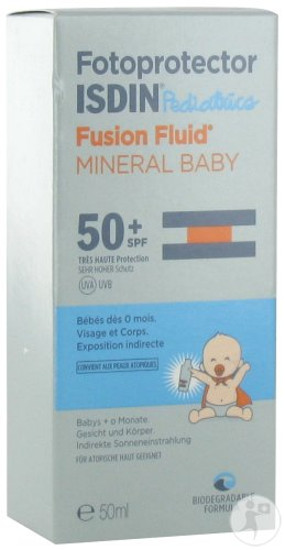 Isdin Fotoprotector Mineral Baby IP50+ Flacon 50ml