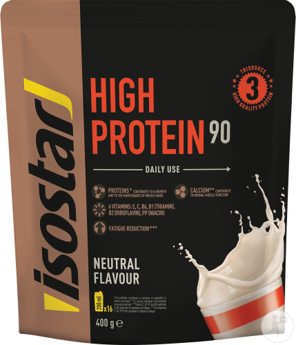 Isostar Powder High Protein 90 Neutral Flavour 400g