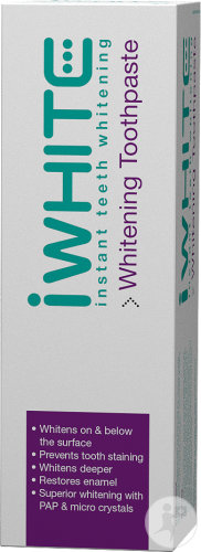 IWhite Instant Teeth Dentifrice Blanchissant Tube 75ml