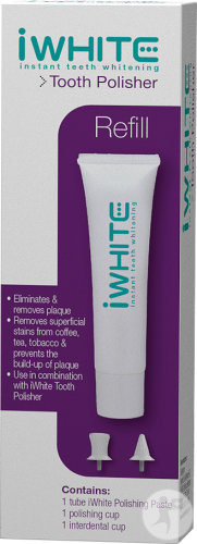 IWhite Instant Teeth Whitening Polisseur Dentaire Recharge Tube 20ml