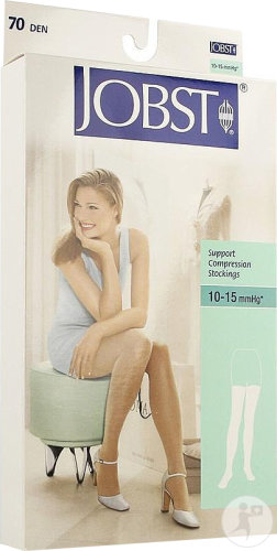 Jobst Support 70 Den Cuisse Black S 1p