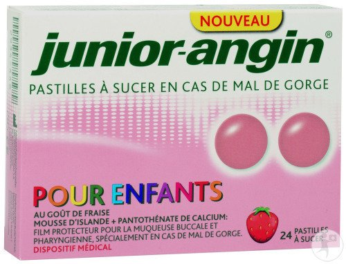 Junior-Angin 24 Pastilles A Sucer