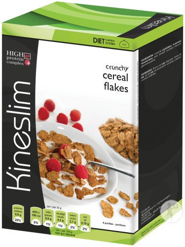 Kineslim Crunchy Cereal Flakes 4x30g