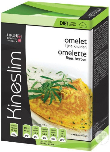 Kineslim Omelette Fines Herbes Poudre 4 Sachets