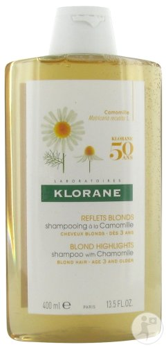 Klorane Reflets Blonds Shampoing À La Camomille Cheveux Blonds 400ml
