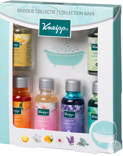 Kneipp Coffret Collection Huiles De Bain 6x20ml