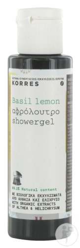 Korres Gel Douche Basilic Citron 40ml