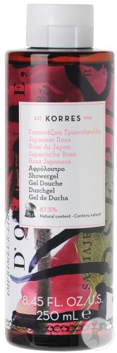 Korres Gel Douche Rose Du Japon 250ml