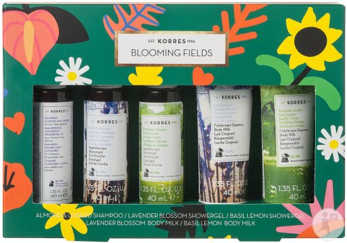 Korres Gift Set Coffret Blooming Fields Collection Mini 1 Kit