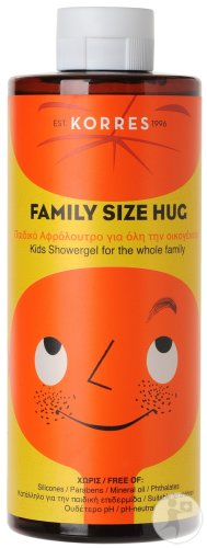 Korres KB Family Size Hug Gel Douche Enfants Flacon 400ml