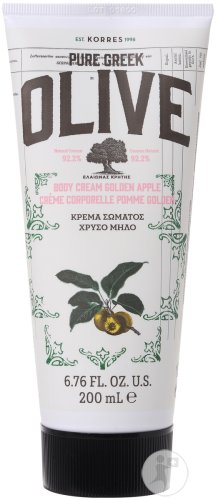 Korres KB Pure Greek Olive Crème Corporelle Pomme Golden Tube 200ml
