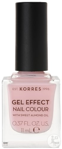 Korres KM Gel Effect Nail Colour 05 Candy Pink 11ml