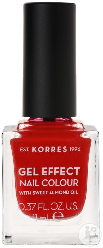 Korres KM Gel Effect Nail Colour 53 Royal Red 11ml