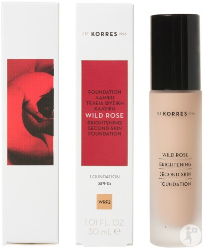 Korres Make Up Wild Rose Fond De Teint WRF2 IP15 Flacon 30ml
