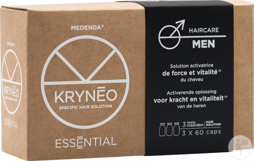 Kryneo Essential Men Solution Activatrice De Force Et Vitalité 3x60 Capsules