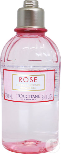 L'Occitane Rose Douche Parfumée Flacon 250ml