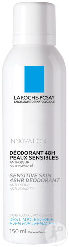 La Roche-Posay Duopack  Déodorant Physiologique 48h Spray 2x150ml