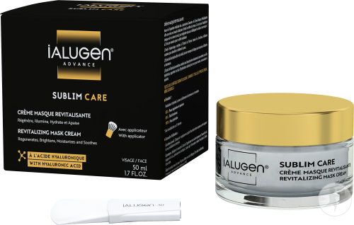 Laboratoires Genevrier Ialugen Advance Sublim Care Crème Masque Revitalisante Visage Pot 50ml