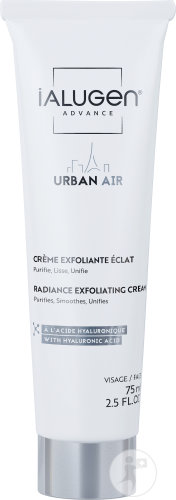 Laboratoires Genevrier Ialugen Advance Urban Air Crème Exfoliante Éclat Visage Tube 75ml
