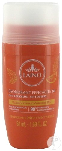 Laino Déodorant Efficacité 24h Agrumes Bio Roll On 50ml