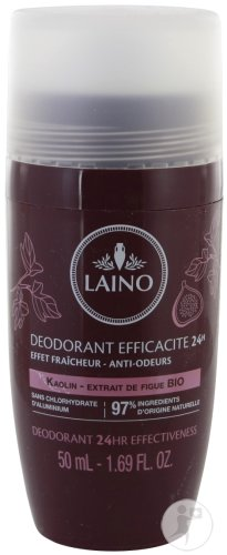 Laino Déodorant Efficacité 24h Figue Bio Roll On 50ml