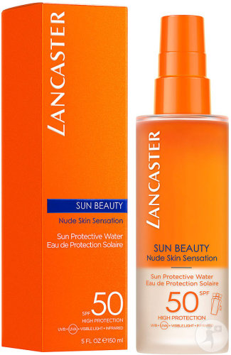 Lancaster Sun Beauty Nude Skin Sensation Eau De Protection Solaire IP50 Spray 150ml