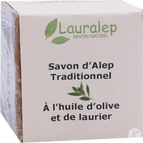 Lauralep Savon D'Alep Traditionnel Syrie 200g